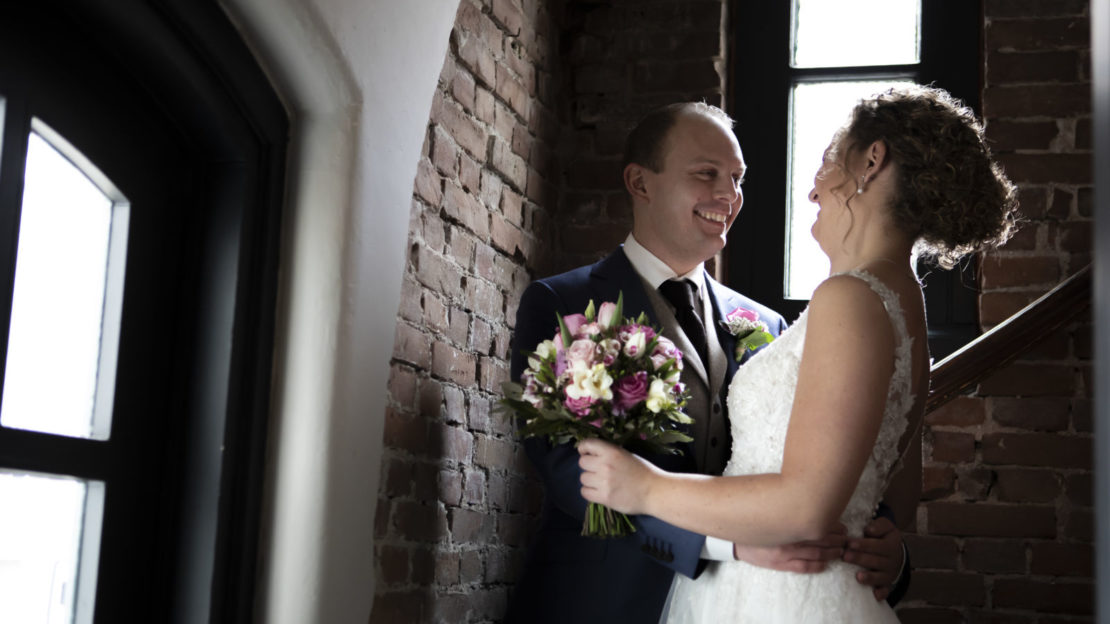 De trouwdag van Bryan en Simone.